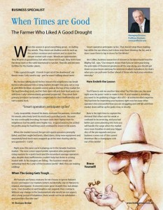 Business Broker Magazine Aug 2009